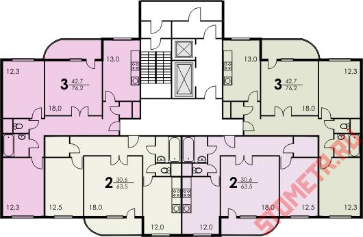 Проекты перепланировки квартир